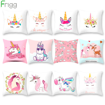 Unicorn Decorative Pillowcase