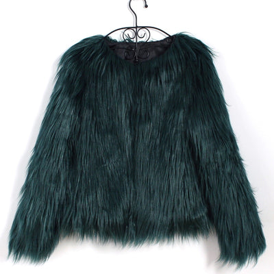 Faux Fur Warm Coat