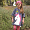 Girls Unicorn Cute Dress