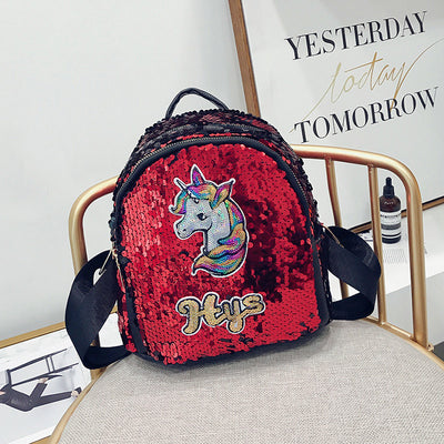 Cute Unicorn Sequins Backpack - Well Pick Review