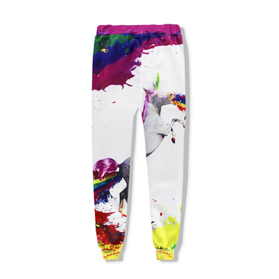 Colorful Unicorn Sporty Jogger Pants/ Hoodie Set - Well Pick Review