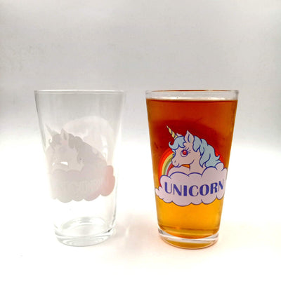Cold Color Change Unicorn Glass - Well Pick Review