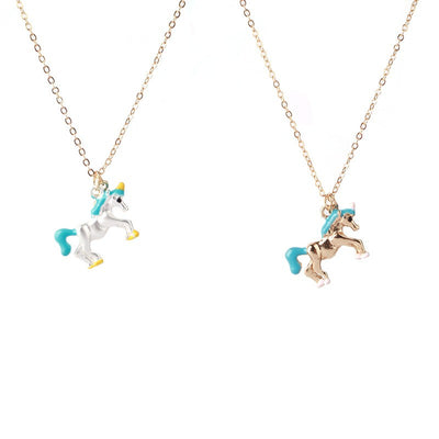 Exclusive Gold/Silver Plated Unicorn Necklace - Well Pick Review