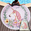 Unicorn Beach Towel Blanket Set (With FREE Bag)
