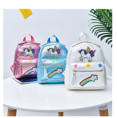 Sequin Unicorn Laser Backpack