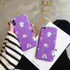 Purple Unicorn iPhone Case