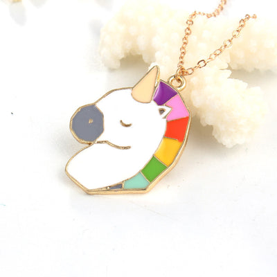 New Rainbow Unicorn Necklaces
