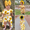 Baby Girl Sunflowers Clothing Set