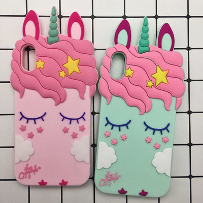 3D Unicorn Sexy Eyelashes Phone Case - Well Pick Review