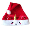 Handmade Santa Unicorn Christmas Party Hat
