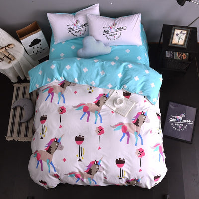 100% Cotton Unicorn Bedding Set - Well Pick Review