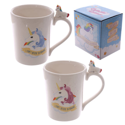'I Don't Believe In Humans' Unicorn Mug - Well Pick Review
