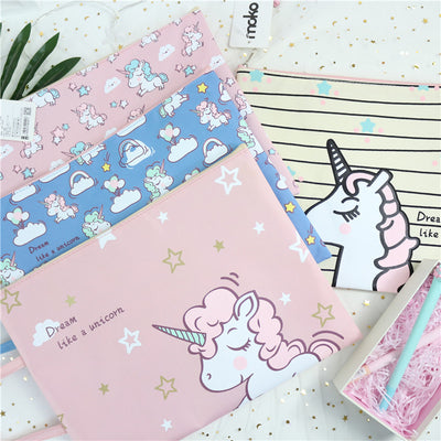 Unicorn A4 Document Bag