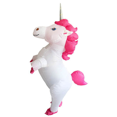 1952e87f7057 New Inflatable Unicorn Kids & Adults Costume - Well Pick