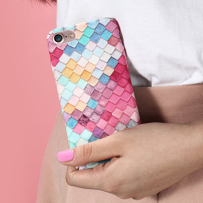 Colorful 3D Fish Scales Mermaid iPhone Case - Well Pick Review