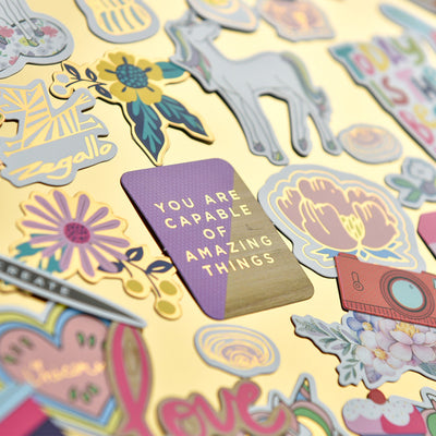 45pcs Magical Unicorn Stickers Set - Well Pick Review