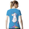 Unicorn Rainbow Fart T-Shirt