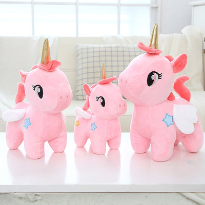 Pink Unicorn Plush Toys