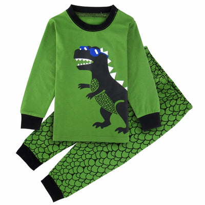 Cartoon Dinosaur Kid Sleepwear - Well Pick Review