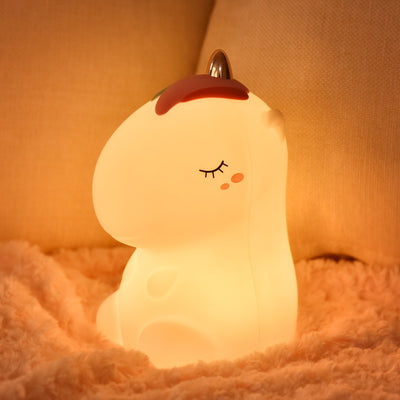 3D Unicorn Silicon Night Light