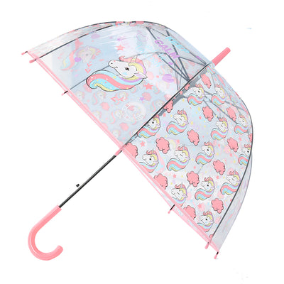 Cute Unicorn Transparent Long Umbrella - Well Pick Review