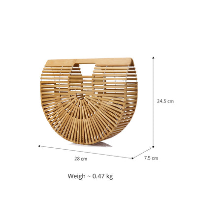Bamboo Handle Hollow Bag - Well Pick Review