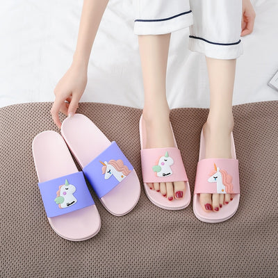 Soft Unicorn Women Slippers