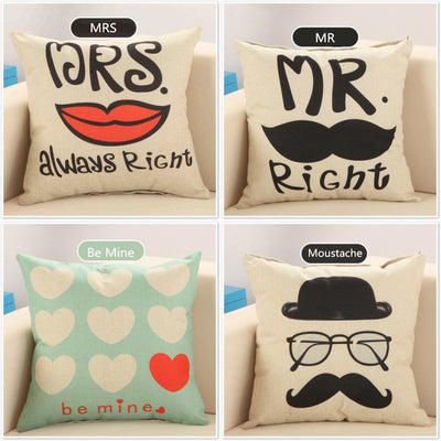 45x45cm Love Story Cushion - Well Pick Review