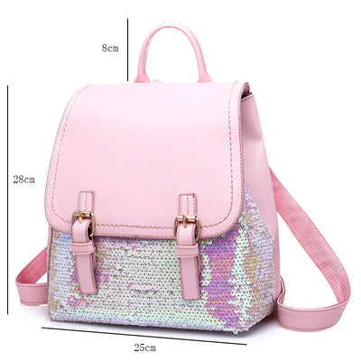 Lady Bling Sequins Backpack