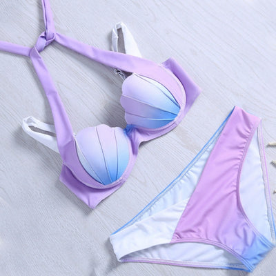 Sexy Mermaid Shell Bikini Swimwear