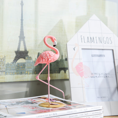Flamingo Resin Pink Home Decor