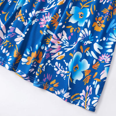 Blue Floral Mom and Daughter Dress - Well Pick Review
