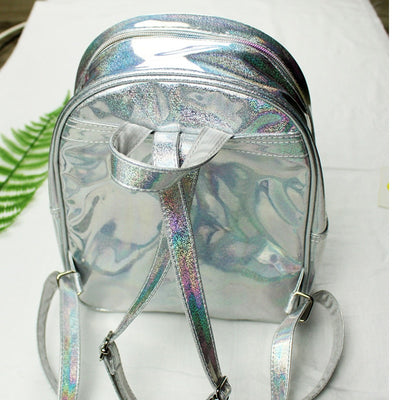 "Mermaid Scales ""A"" Sequins Backpack"