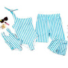 Blue Stripe Family Matching Swimsuit - Well Pick Review