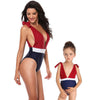 Leaf Mother Daughter Matching Swimsuit
