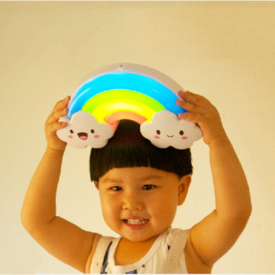 Rainbow Shape Sound Sensitive Bed Lamp