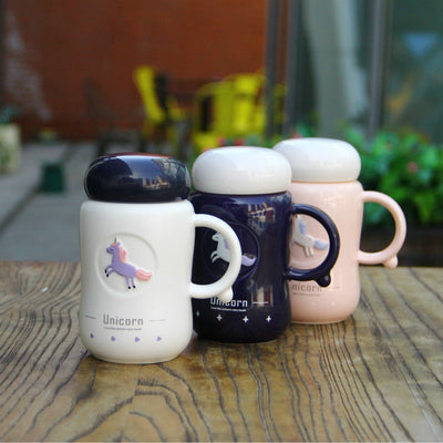 Lovely Unicorn Ceramic Mug