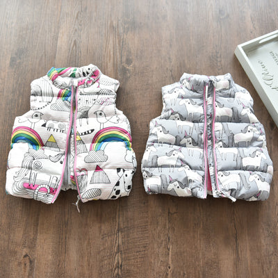 Fleece Baby Warm Vest