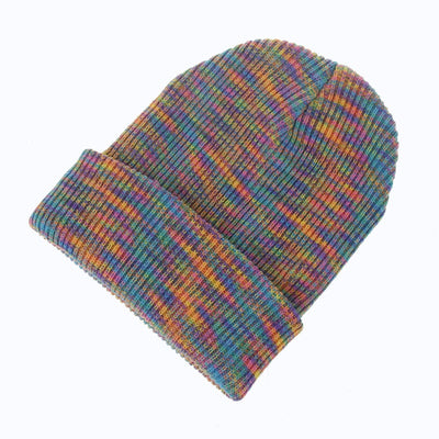 Multicolored Knitted Hat
