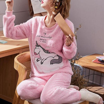 Unicorn Cloudy Pajamas Set