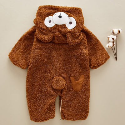 Bear Winter Baby Rompers