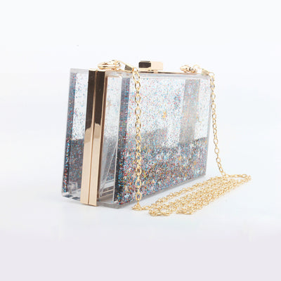 Artistic Glitter Sequins Clutch Bag - Well Pick Review