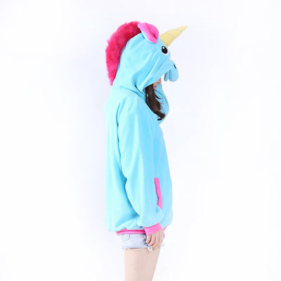Blue/Pink Unicorn Horn Jacket - Well Pick Review