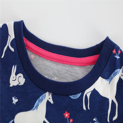 Baby Girls Unicorn Pocket Dress - Well Pick Review