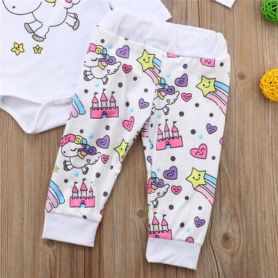Baby Unicorn 4Pcs Clothes Set - Well Pick Review