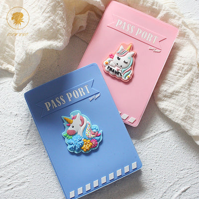 Unicorn Travel Passport Cover