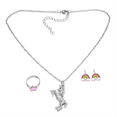 Children Girl Unicorn Jewelry Sets - Well Pick Review