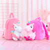 3D Unicorn Plush Backpack