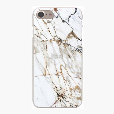 Marble Pattern Hard Transparent Case