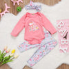 Newborn Baby Unicorn Clothing Set